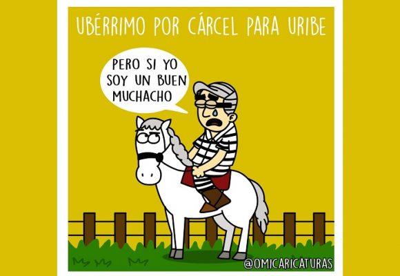 Caricatura: ¿Ubérrimo por cárcel para Uribe?