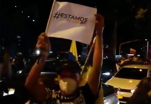 VIDEO - Uribistas amenazan con tomarse Bogotá si no liberan a Uribe