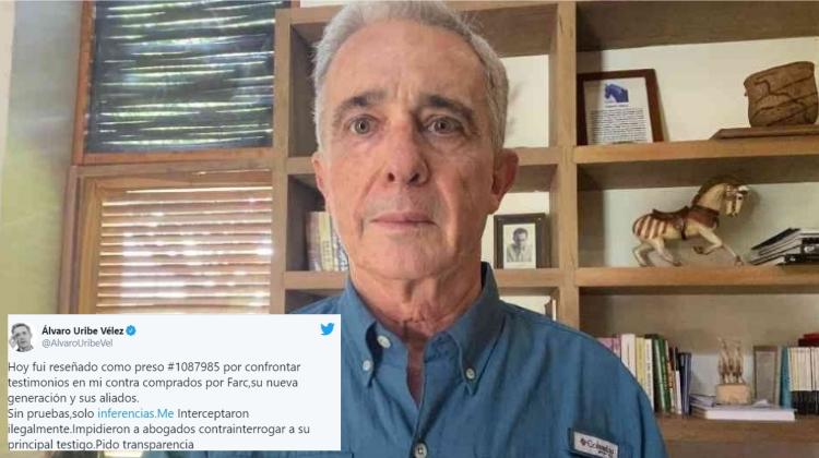 A Uribe se le nota en la mirada