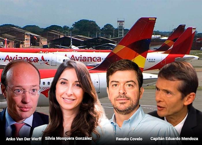La rosca de ejecutivos de Avianca premiados con millonarios bonos, en plena quiebra