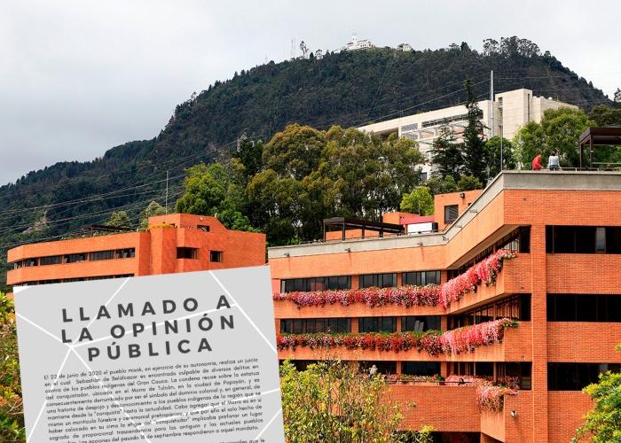 Profesores de Antropología del Externado le dan la razón a los Misak en el Cauca