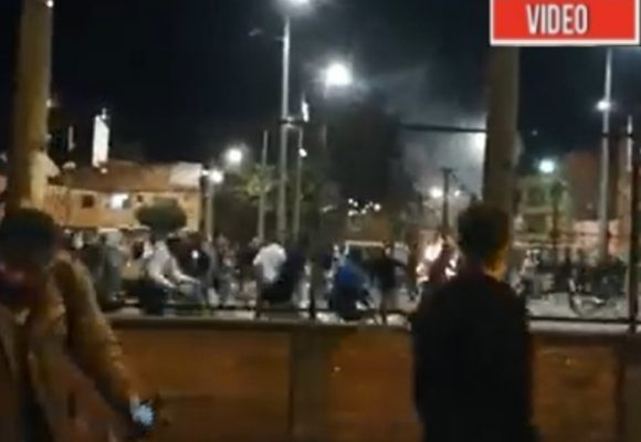 Continúa la reprensión: policía habría herido de muerte a joven manifestante. VIDEO