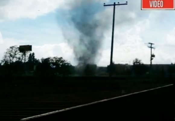 VIDEO: Increíble tornado deja lesionados y casas dañadas en Madrid, Cundinamarca