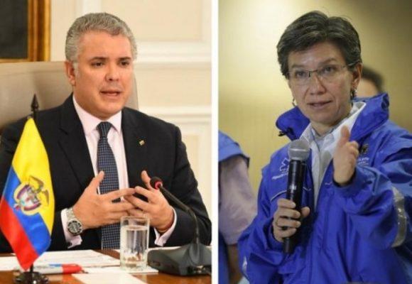 Después de días de tensión Claudia López le pide cita al presidente