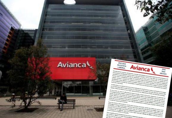 Empleados le cantan la tabla a ejecutivos de Avianca por sus megabonos
