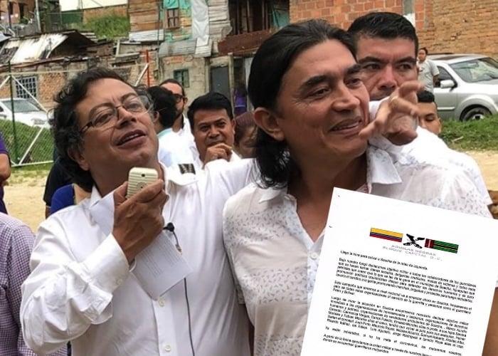 Águilas Negras amenazan de muerte a Petro, Bolivar y a quien los apoye en Soacha