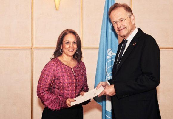 ¿Tiembla el puesto de Adriana Mendoza, embajadora de Colombia ante la ONU en Suiza?