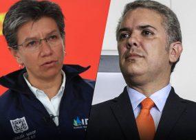 Varillazo de Claudia López a Duque por politizar entrega de vacunas