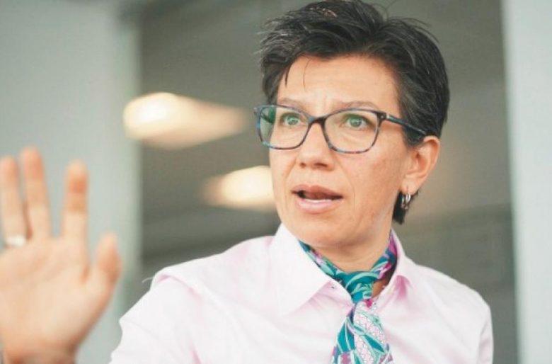 Claudia López niega que la policia haya agredido a Katherine Miranda