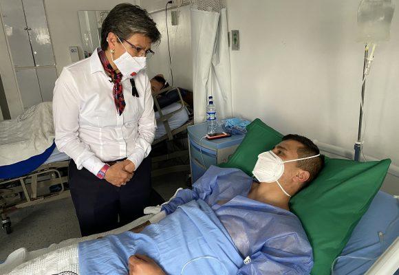 Acusan a Claudia López de hacer política con el sufrimiento de las víctimas de la policía