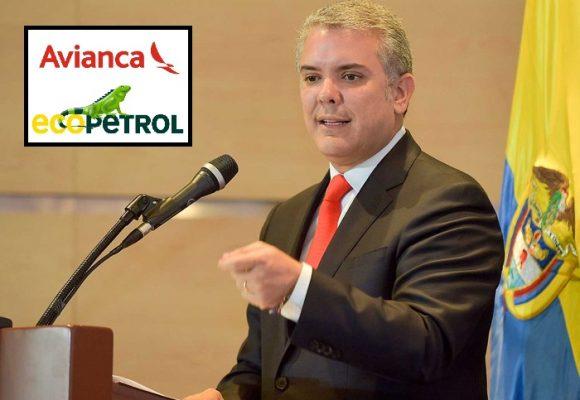 De Avianca y Ecopetrol, lo público y lo privado