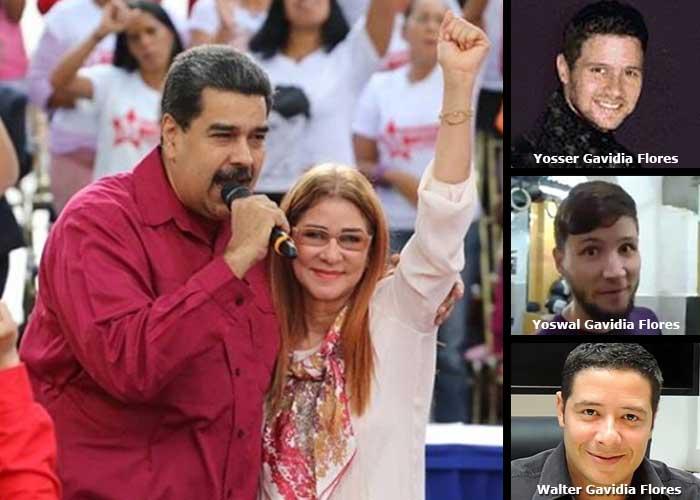 Los extravagantes hijastros de Maduro