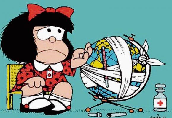 Video: Quino cuenta cómo nació Mafalda