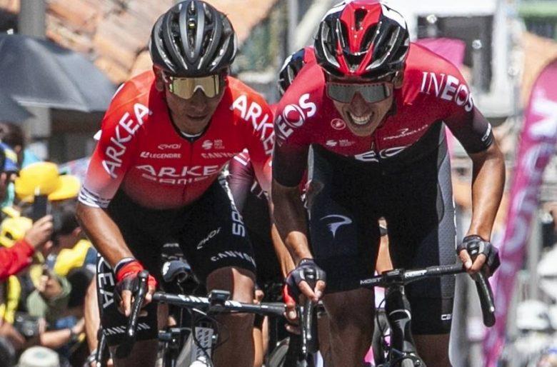 Primer golpazo de Egan y Nairo en el Tour de Francia