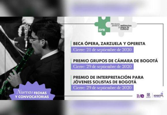 Abiertas nuevas convocatorias de estímulos de la Orquesta Filarmónica de Bogotá