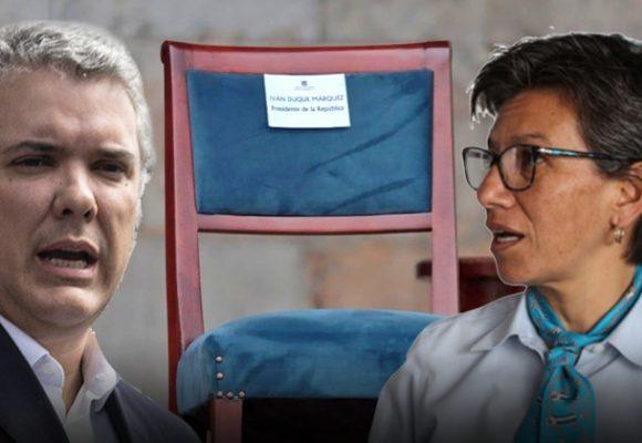 El presidente y la alcaldesa: una pelea absurda