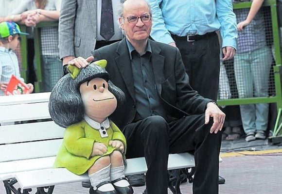 """""""Si hubieran leído Mafalda no serían uribistas"""""""