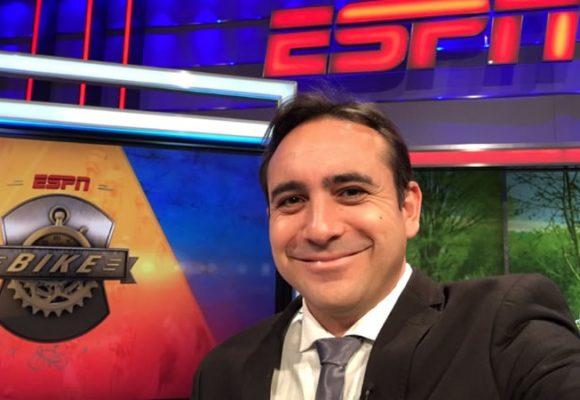 La rabia de Mario Sábato por dura crítica de ex novia de Egan Bernal a ESPN