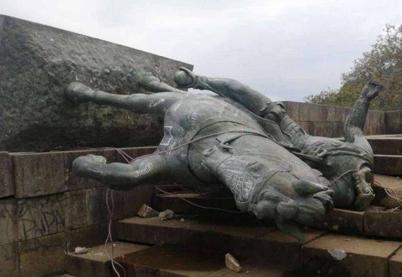 Todo el mal que hacía la estatua de Belalcazar encima del morro de Popayán