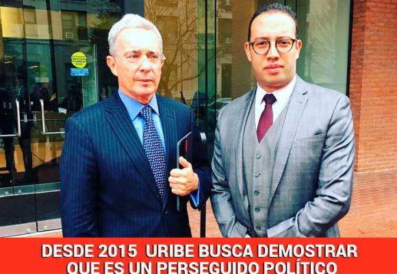 La batalla jurídica internacional de Uribe en Washington
