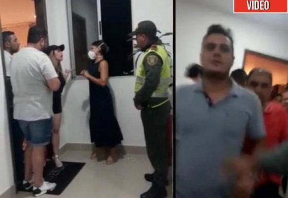 Nuevo video comprueba que los dueños de la fiesta en Barranquilla arrancaron la pelea