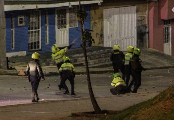La policia salió a disparar: siete bogotanos asesinados durante las protestas