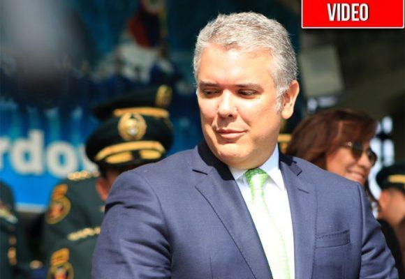 Increíble: Duque exaltó gallardía de la policía nacional
