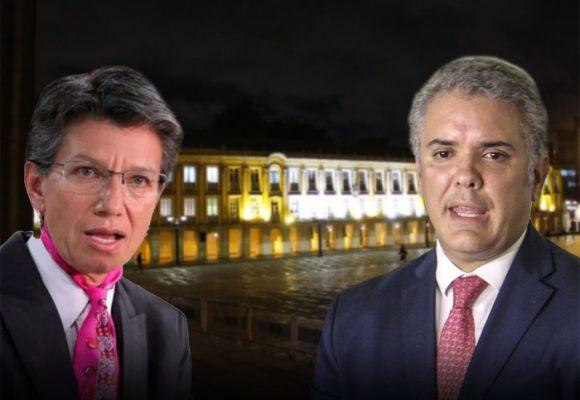 La silla improvisada de Claudia López para hacer quedar mal al presidente