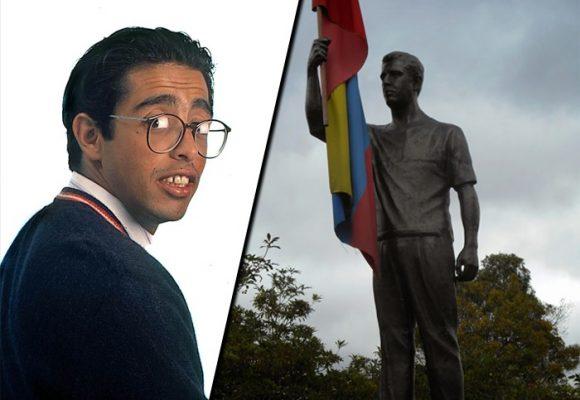 Los uribistas que quieren tumbar la estatua de Jaime Garzón