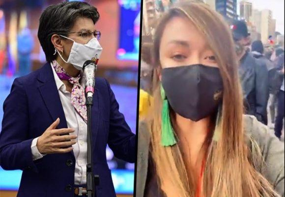 El joven que se iba a llevar la policía no era un vándalo: la mentira de Claudia López