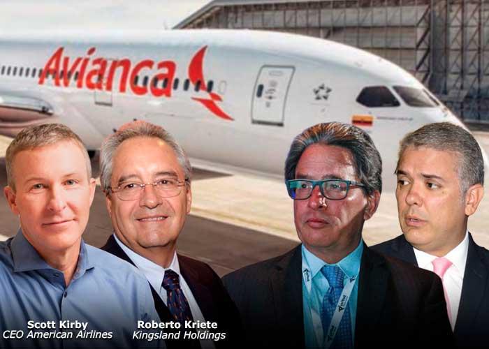 ¿Quiénes son los dueños de Avianca?