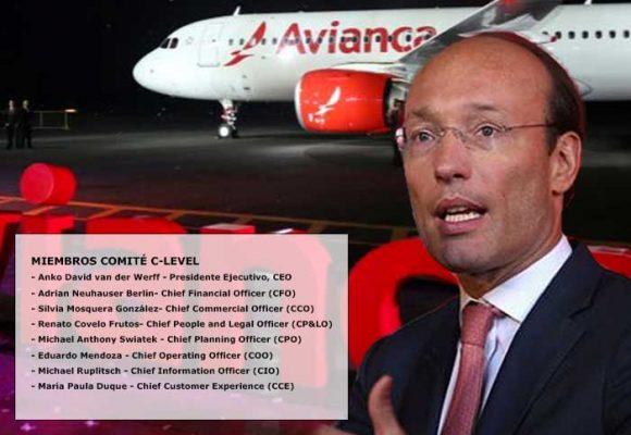 El primer anillo que rodea a Anko Vander Werff, CEO Avianca
