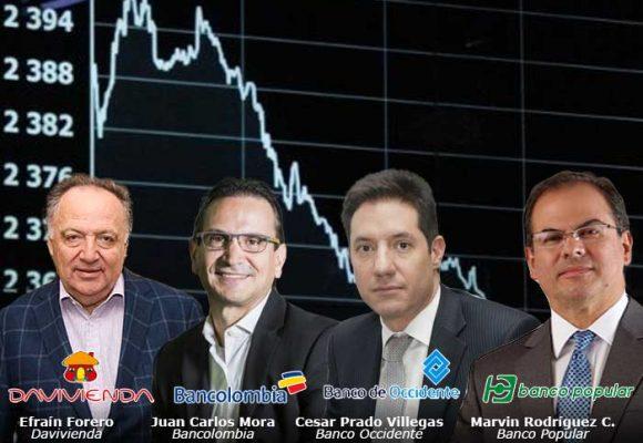 Cuatro bancos, los que más perdieron en la cuarentena