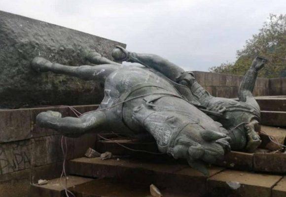 Luces y sombras en el derribo de la estatua de Sebastián de Belalcázar