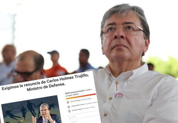 Nueva presión a Mindefensa: firmatón para su renuncia