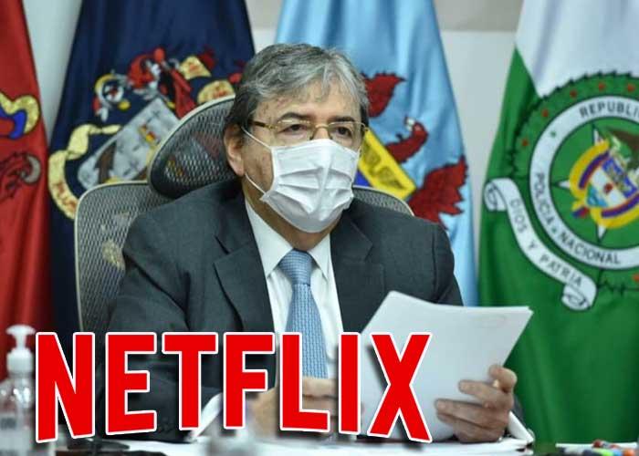 ¿Hasta Netflix se burla del ministro de Defensa?