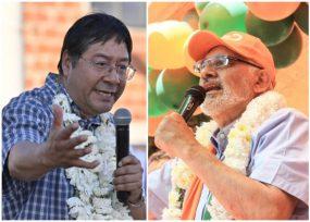Elecciones bolivianas se volvió pelea de dos candidatos de peso
