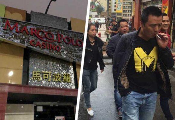 El casino Marco Polo, donde se divierten los chinos en Bogotá