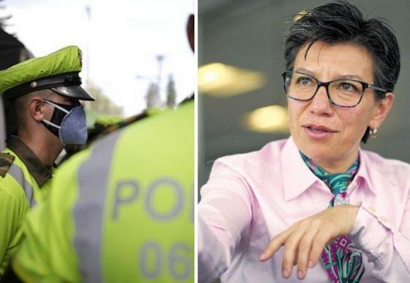 Claudia López comprará 4 mil radios para la Policía