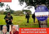 Los millones de narcodólares que siguen entrando al país son el verdadero problema