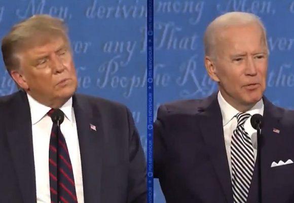 Trump versus Biden: un cara a cara en medio del caos