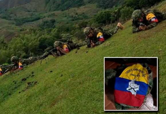 Así lucen las disidencias de las FARC en el Cauca. FOTOS
