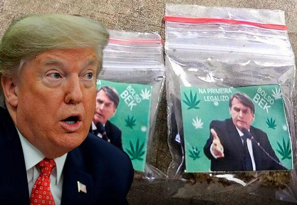 Trump, Bolsonaro y Messi convertidos en las drogas más fuertes del mercado
