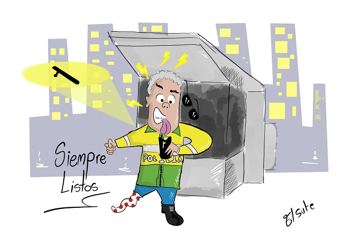 Caricatura: Duque al servicio