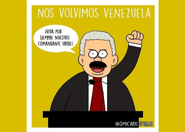 Caricatura: Nos volvimos Venezuela
