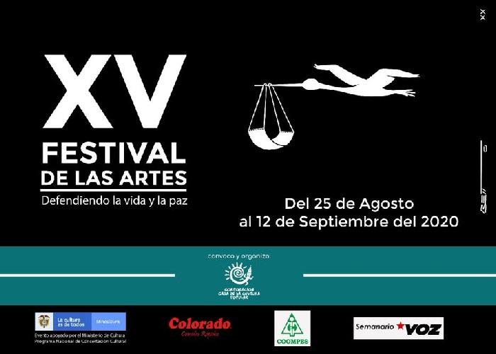Llegó el XV Festival de las Artes: Defendiendo la vida y la paz
