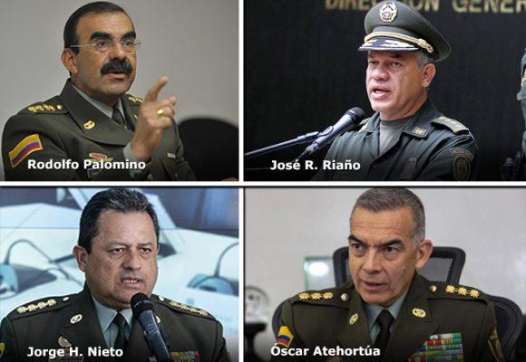 Los generales a los que se les derrumbó la Policía