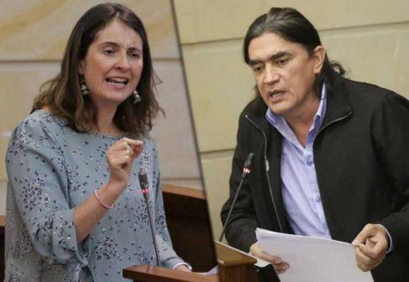 ¿Le tuvo miedo Gustavo Bolívar a Paloma Valencia en el debate de Semana?