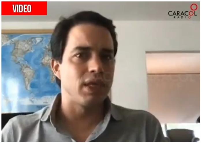 La tristeza de Jerónimo Uribe por su papá preso