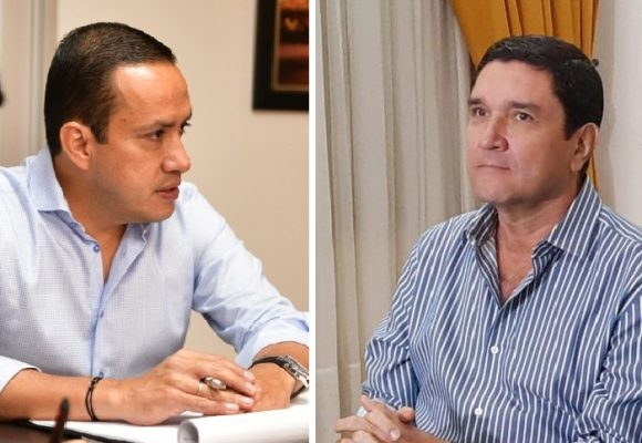 La agria relación del alcalde de Bucaramanga Cárdenas con el gobernador Aguilar
